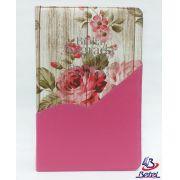 Bíblia Letra Gigante PJV ARC Zíper (Rosa Flor)