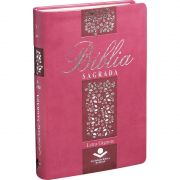 Bíblia Letra Gigante RA SBB (Pink Floral)