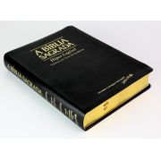 Bíblia SBTB ACF Hiper Legível Letra Gigante Luxo Couro (Preta)