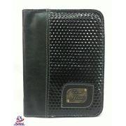 Capa para Bíblia Luxo Pequena Couro Zíper M-02