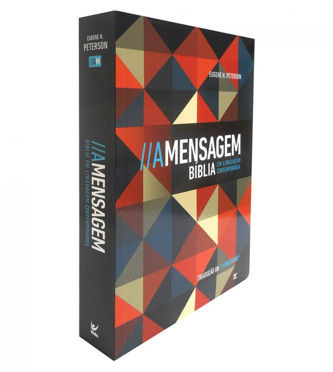 Bíblia A Mensagem Brochura Média Mosaico  - Livraria Betel