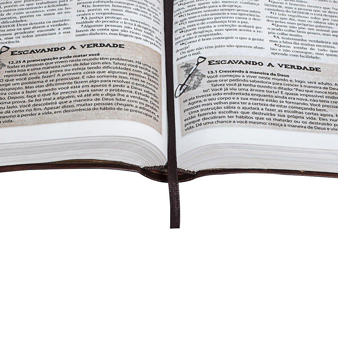 Bíblia das Descobertas para Adolescentes  - Livraria Betel