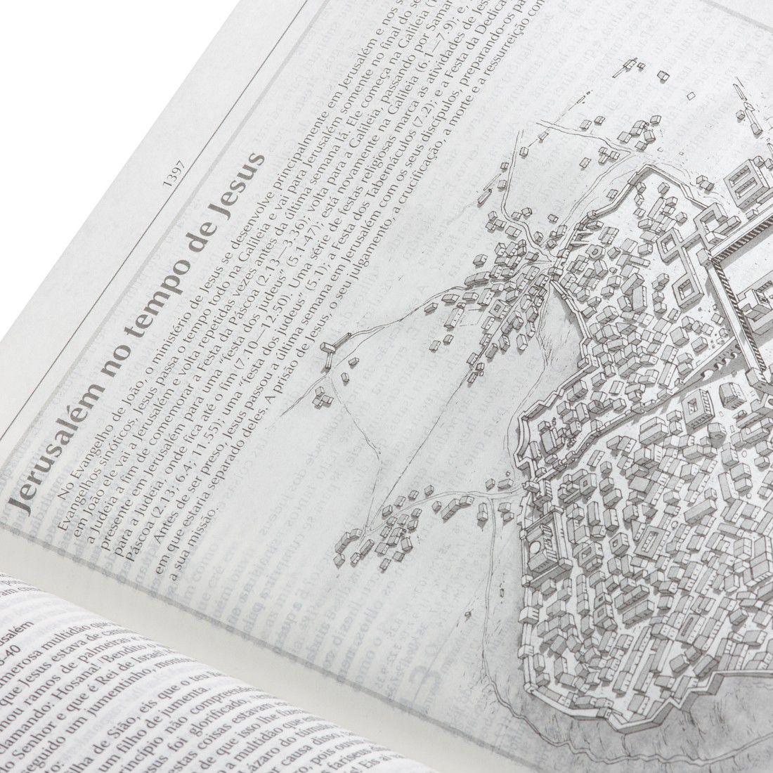 Bíblia de Estudo de Genebra (Preta)  - Livraria Betel