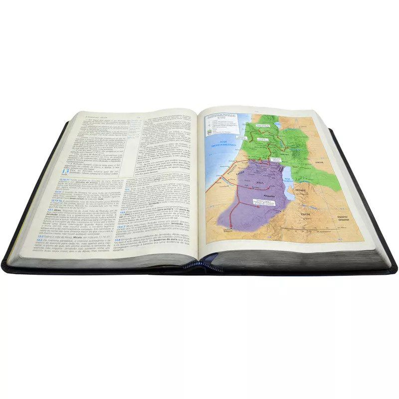 Bíblia de Estudo King James 1611 (Luxo Preta)  - Livraria Betel