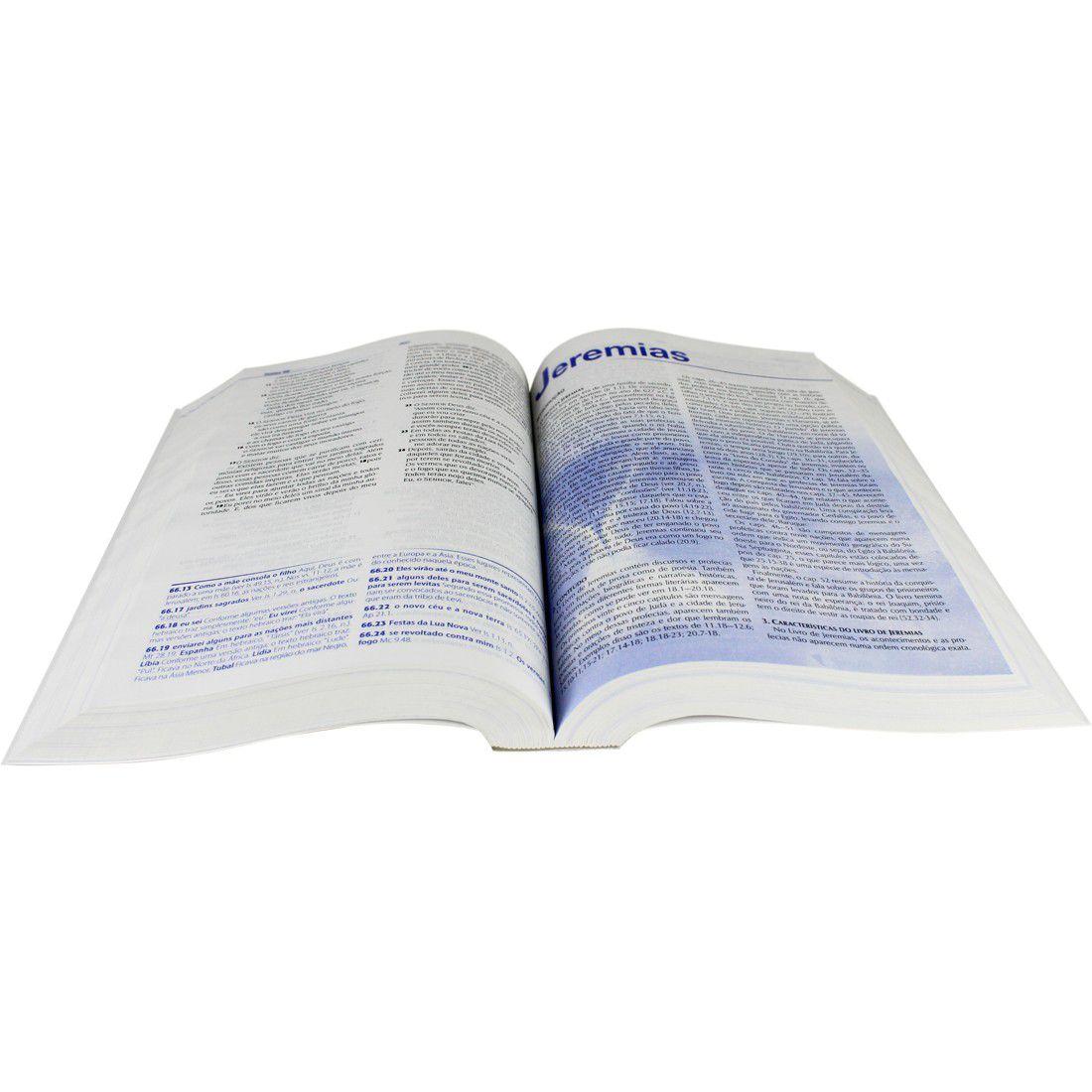 Bíblia de Estudo NTLH SBB Brochura c/ Capa  - Livraria Betel