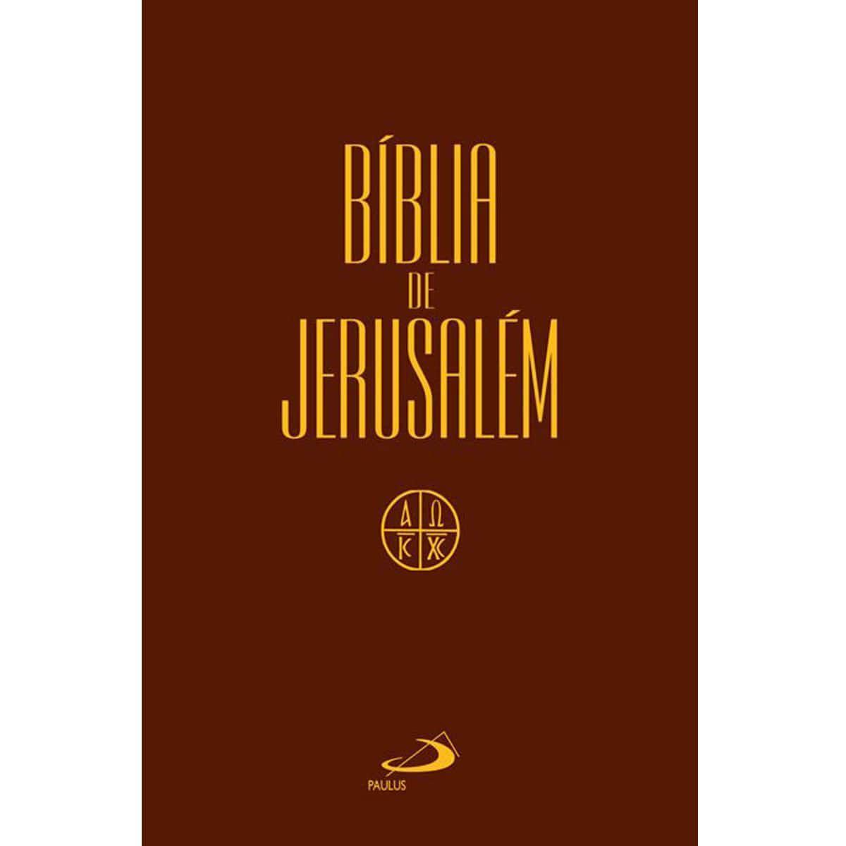 Bíblia de Jerusalém Média Cristal Paulus  - Livraria Betel