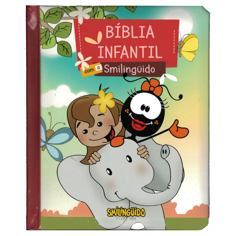 Bíblia Infantil com o Smilinguido  - Livraria Betel