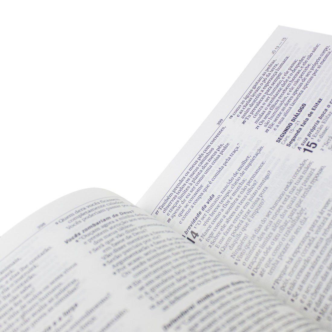 Bíblia Sagrada NAA Jovens (Cruz Branca)  - Livraria Betel