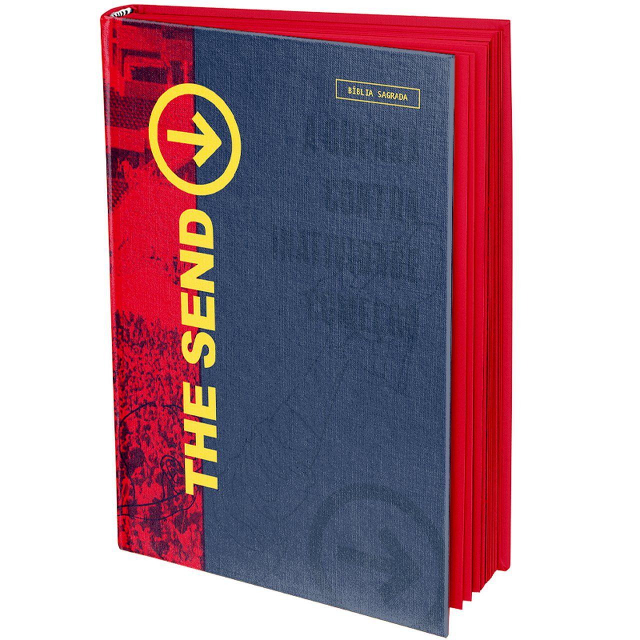 """Bíblia SBB The Send """"A Guerra Contra Inatividade Começou""""  - Livraria Betel"""