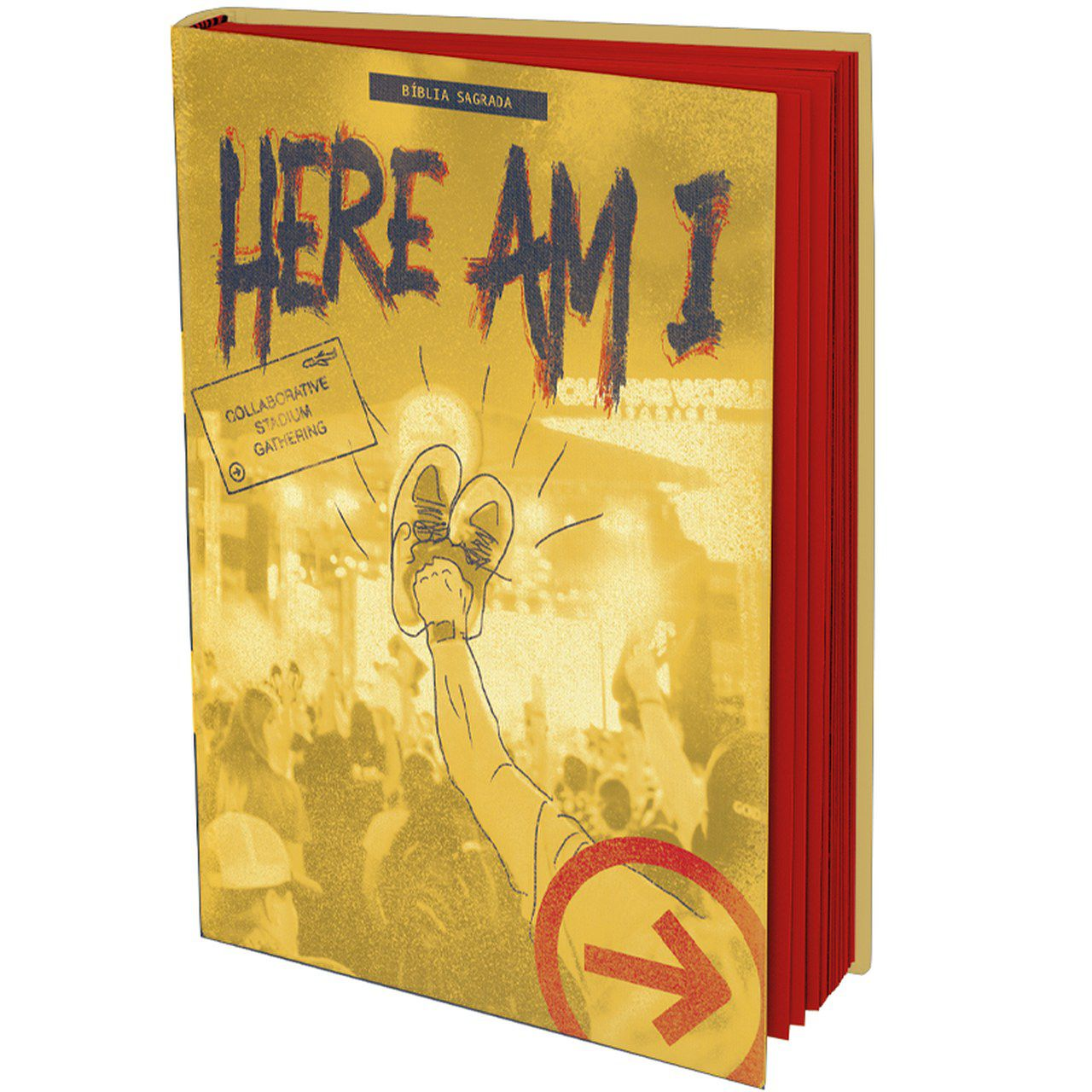 "Bíblia SBB The Send ""Here Am I""  - Livraria Betel"