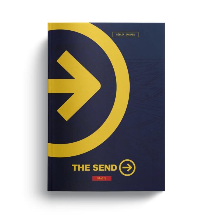"Bíblia SBB The Send ""Stadium""  - Livraria Betel"