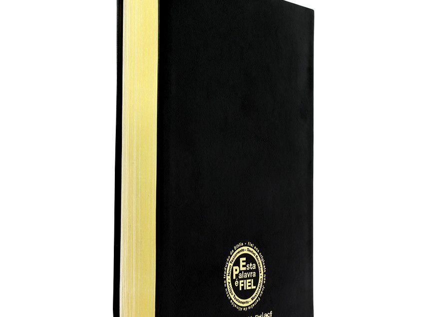 Bíblia SBTB ACF Hiper Legível Letra Gigante Luxo Couro (Preta)  - Livraria Betel