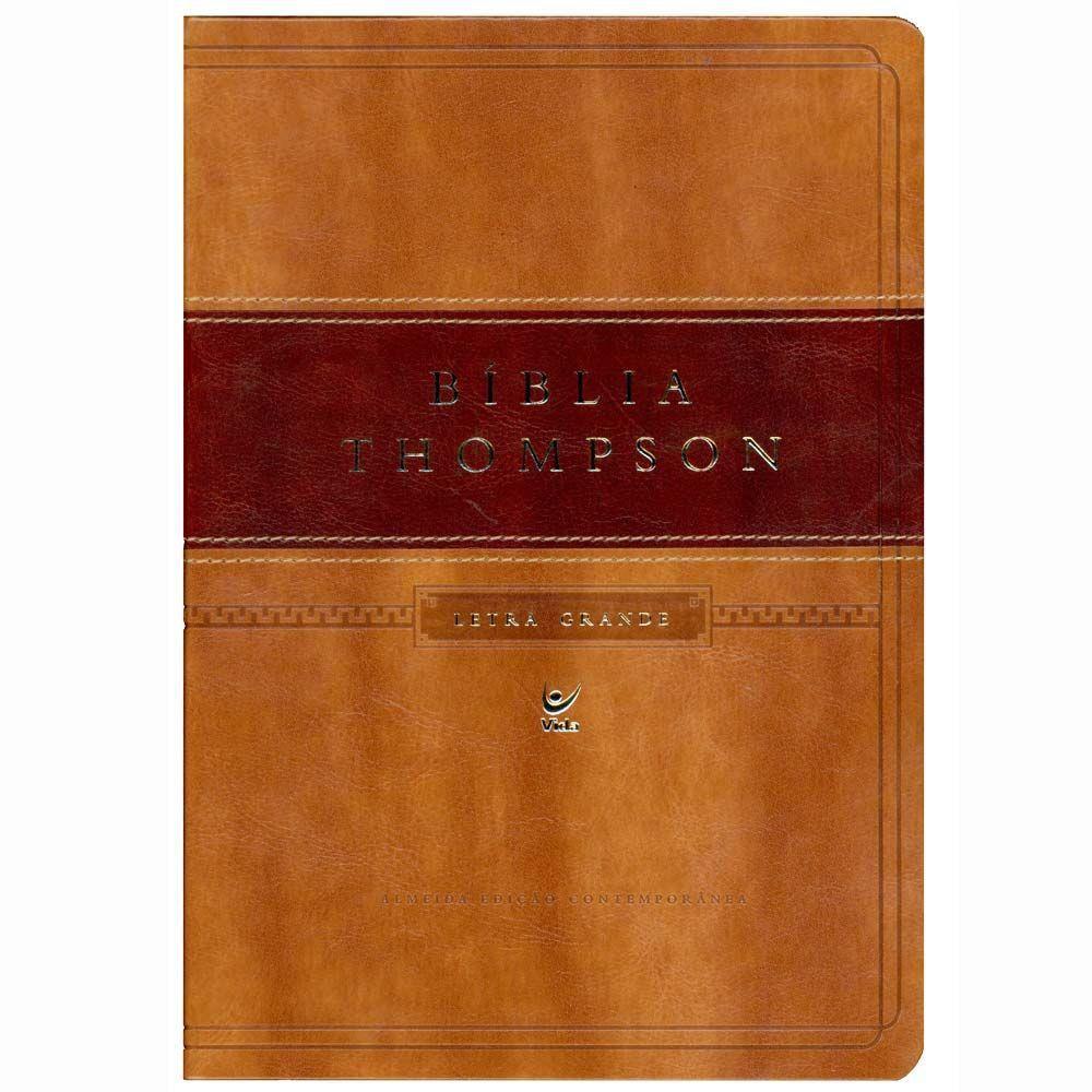 Bíblia Thompson Letra Grande AEC  - Livraria Betel