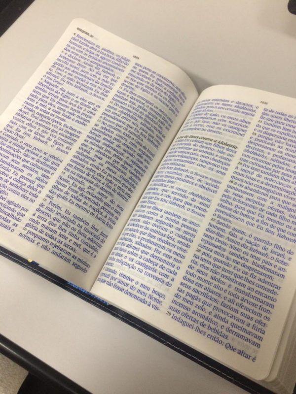 Bíblia de Estudo King James Atualizada (Vinho)  - Livraria Betel