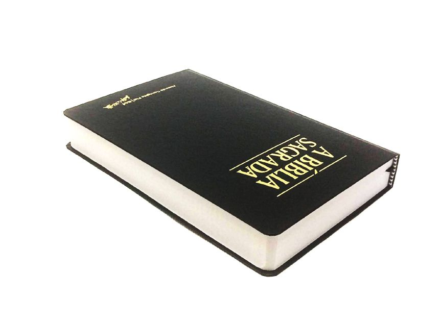 Bíblia SBTB ACF Letra Gigante Semi Luxo (Preta)  - Livraria Betel