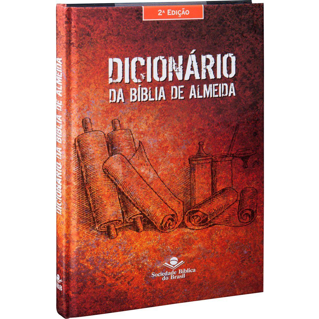 Dicionário da Bíblia de Almeida SBB  - Livraria Betel