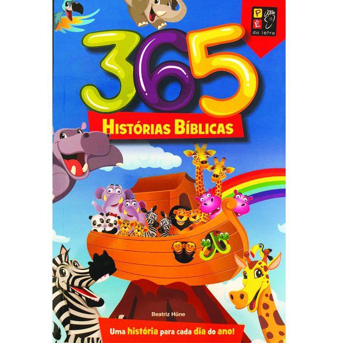 Livro 365 Histórias Bíblicas  - Livraria Betel
