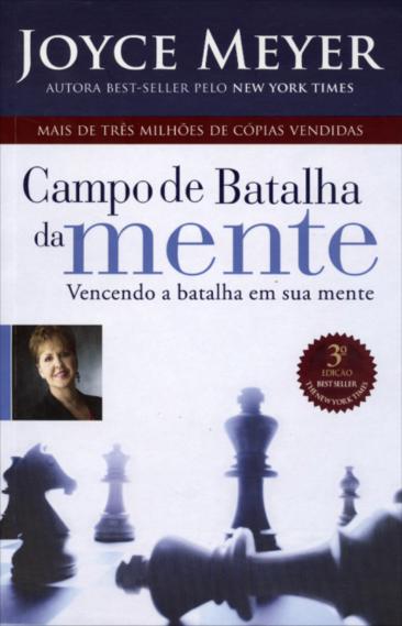 Livro Campo de Batalha da Mente - Joyce Meyer  - Livraria Betel