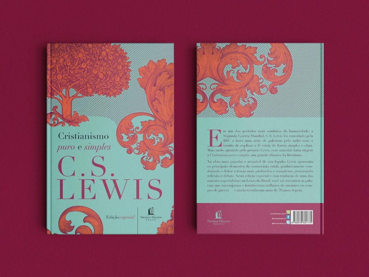 Livro Cristianismo Puro e Simples - C. S. Lewis  - Livraria Betel