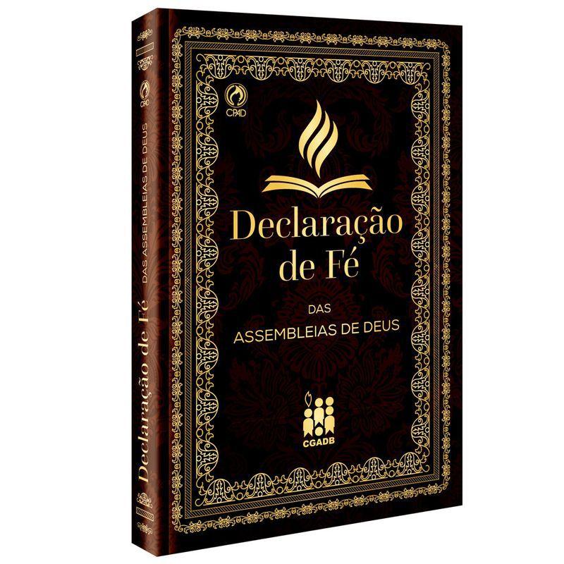 Livro Declaração de Fé das Assembleias de Deus  - Livraria Betel
