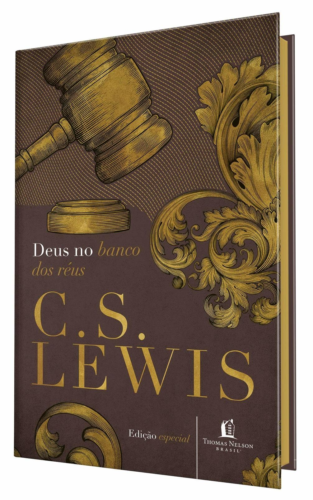 Livro Deus no Banco dos Réus - C. S. Lewis  - Livraria Betel