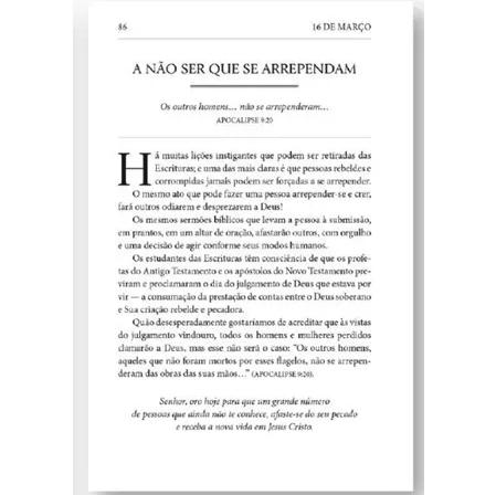 Livro Dia a Dia com A.W. Tozer Devocional  - Livraria Betel