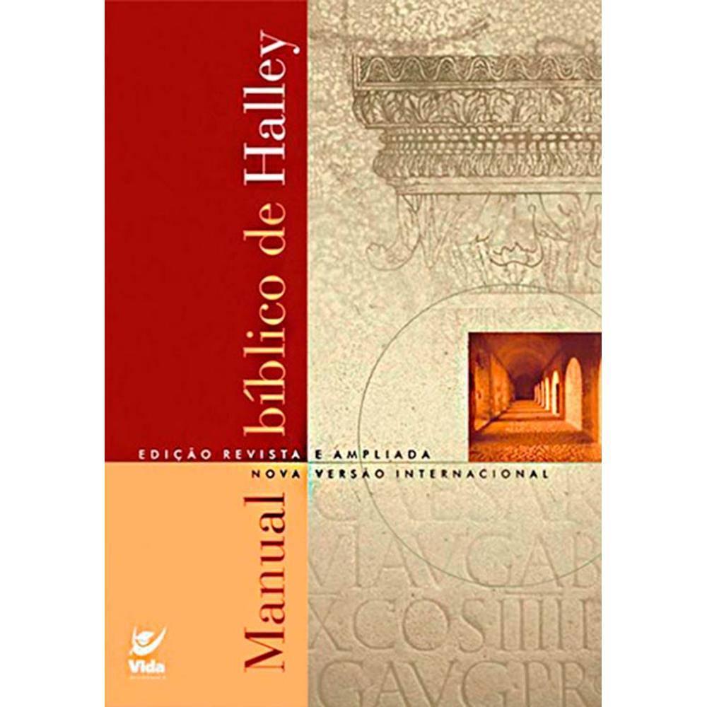 Livro Manual Bíblico de Halley NVI  - Livraria Betel