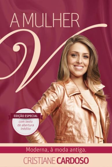 Livro Mulher V - Cristiane Cardoso  - Livraria Betel