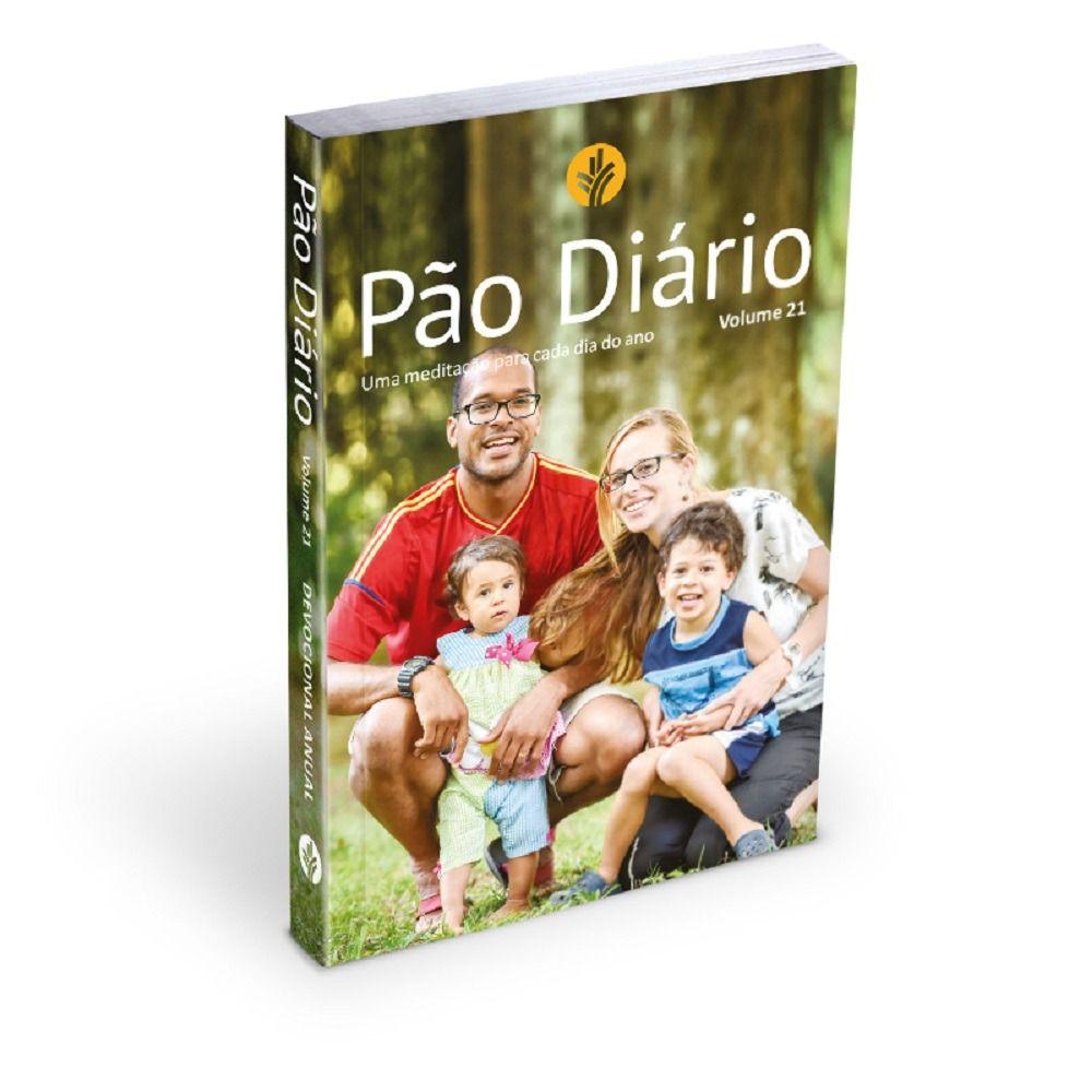 Livro Pão Diário Vol.21 (Família)  - Livraria Betel