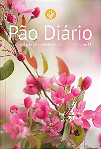 Livro Pão Diário Vol.21 (Rosa)  - Livraria Betel