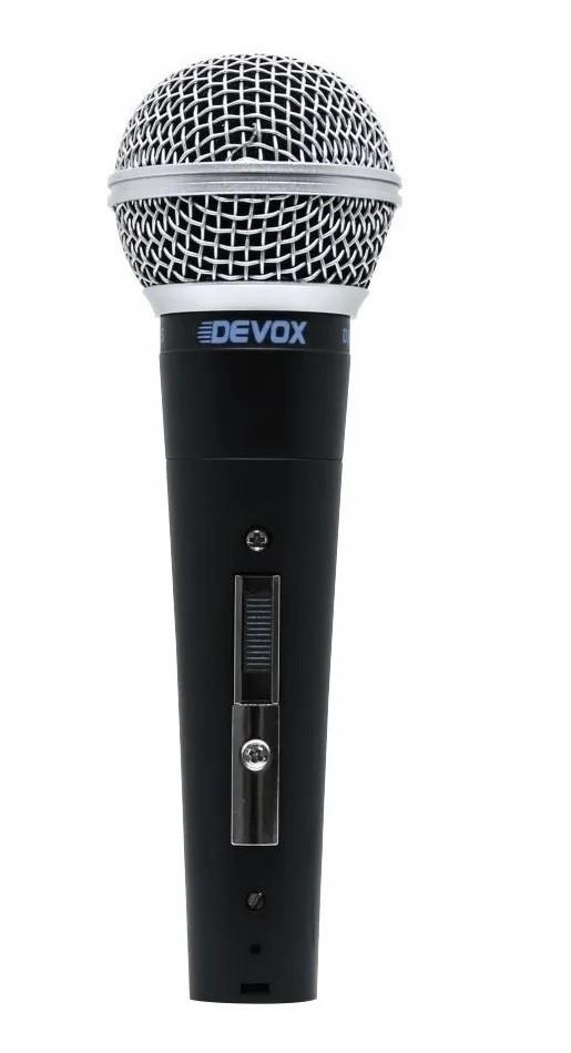 Microfone Devox Dx-58s Dinâmico Profisssional De Mão Com Fio  - Livraria Betel