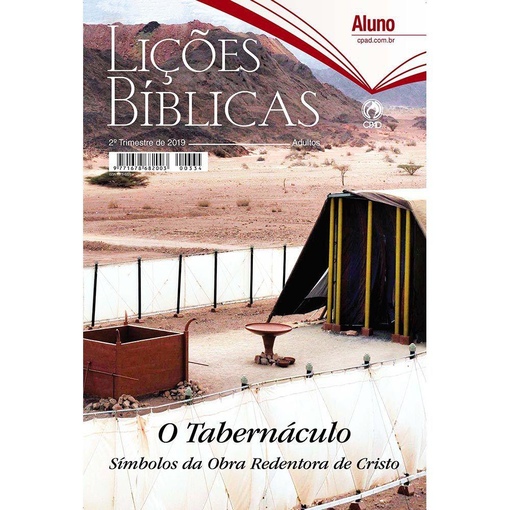 Revista CPAD Lições Bíblicas EBD ALUNO 2° TRIM. 2019  - Livraria Betel