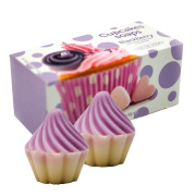 Estojo 2 Sabonetes Blackberry Cupcake