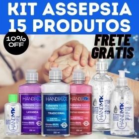 Kit Assepsia 15 produtos