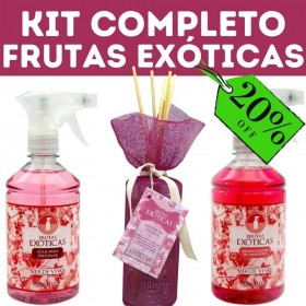 Kit Completo Frutas Exóticas