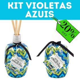 Kit Completo Violetas Azuis