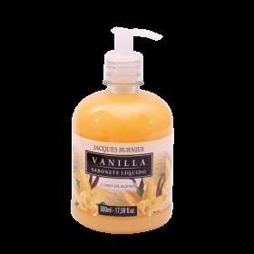 Liquid Soap Vanilla Sabonete Líquido com colágeno 500ml Jacques Burnier
