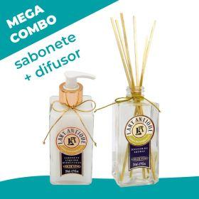Mega combo! Sabonete + Difusor Cedro do Marrocos