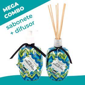 Mega combo! Sabonete + Difusor Violetas Azuis