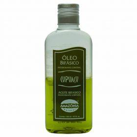 Óleo Bifásico Desodorante Corporal Cupuaçu Amazônia Natural 140 ml