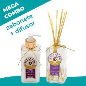 Mega combo! Sabonete + Difusor Lotus do Tibet