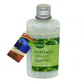Sabonete Líquido Esfoliante Corporal Cupuaçu Amazônia Natural 250ml