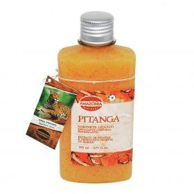 Sabonete Líquido Esfoliante Corporal Pitanga Amazônia Natural 250ml