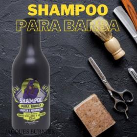 Shampoo para Barba Limão Siciliano e Jojoba Jacques Burnier 300ml