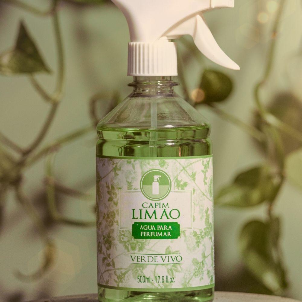 Água para Perfumar Capim Limão 500ml