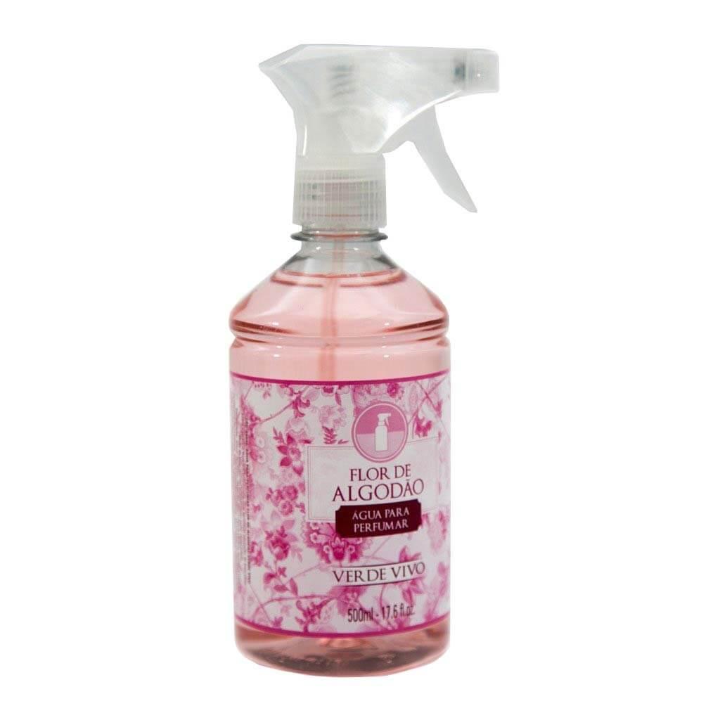 Água para Perfumar Flor de Algodão 500ml