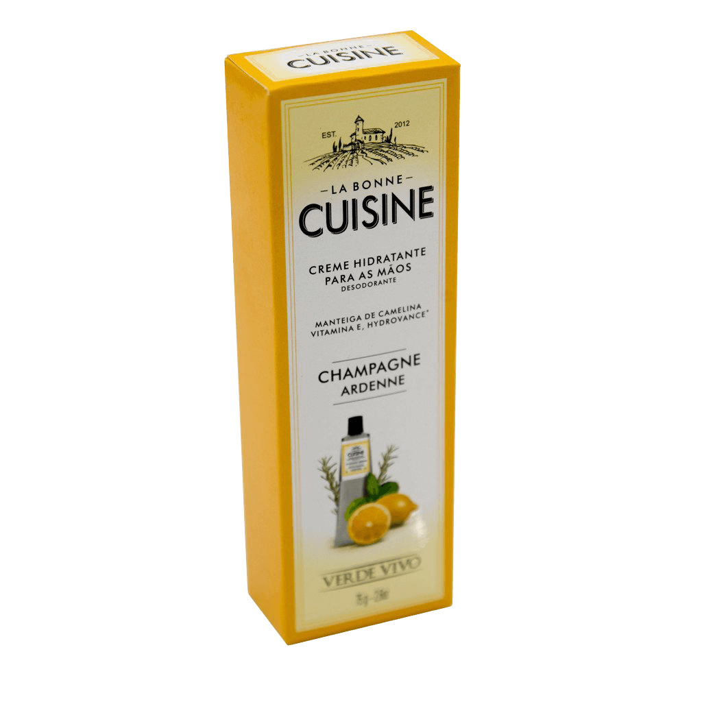 Creme Hidratante Desodorante para as Mãos La Bonne Cuisine Champagne Ardene