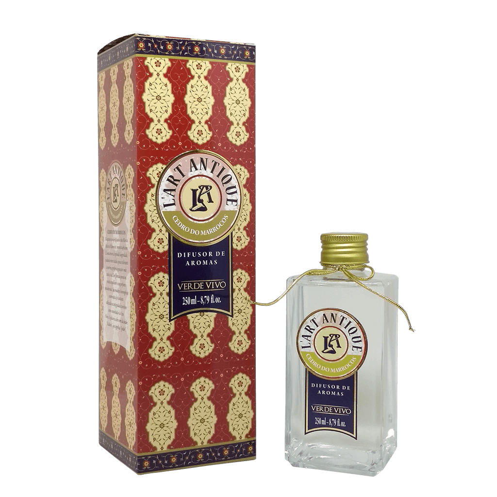 Difusor de Aromas L'art Antique Cedro do Marrocos 250ml