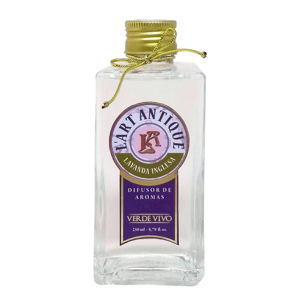 Difusor de Aromas L'art Antique Lavanda Inglesa 250ml
