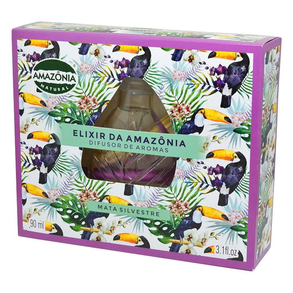 Difusor de Aromas Mata Silvestre Elixir da Amazônia Natural 90ml